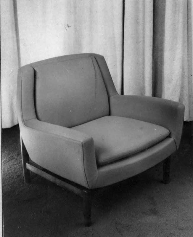 Autor: Javier Carvajal Tipo: Sillón Loewe Año: 1959 Ubicación Original: Tienda Loewe de Serrano