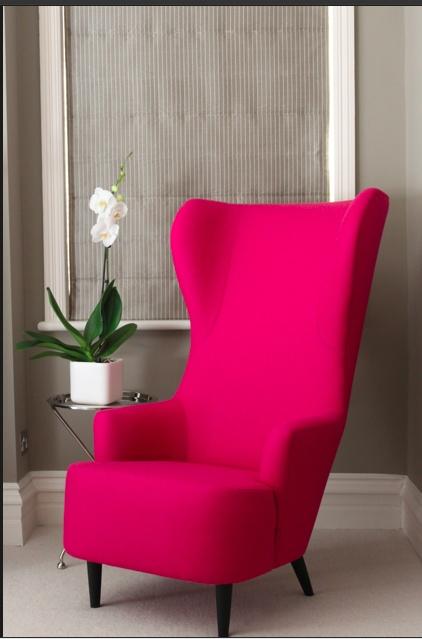 Foamtec Pink Chair