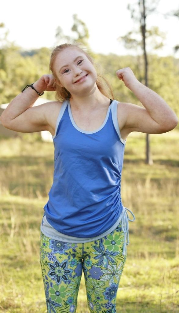 Madeline Stuart, an 18-year-old model with Down syndrome scored her first ad campaign for athletic wear brand Manifesta!