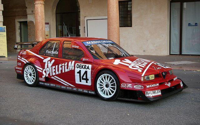 Alfa Romeo 155 V6 Ti ITC #Alfa #AlfaRomeo #italiandesign