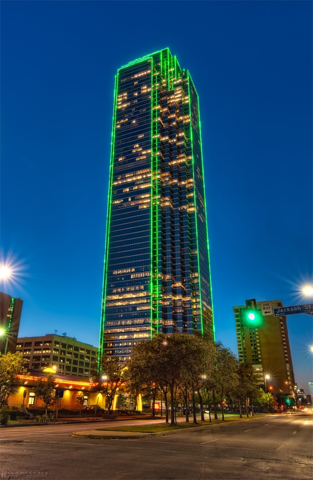Bank of America Building downtown Dallas....the building ...