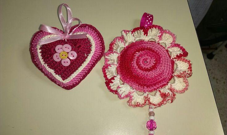 Corazón y flor