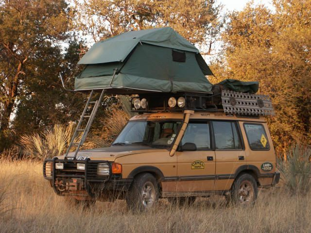 Camel Trophy Land Rover with roof tent ★ App for Land Rover & Range Rover ★…