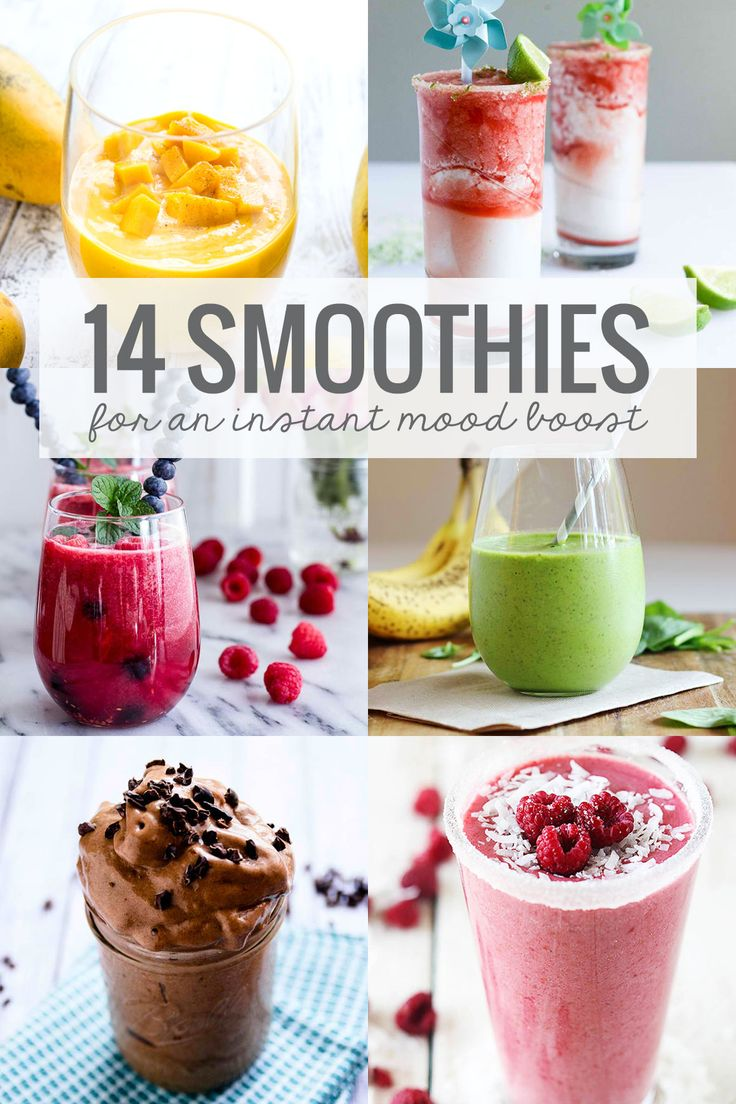 14 Smoothies for an Instant Mood Boost
