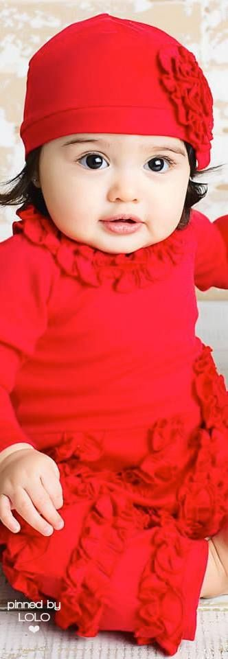 Adorable in red | LOLO❤︎