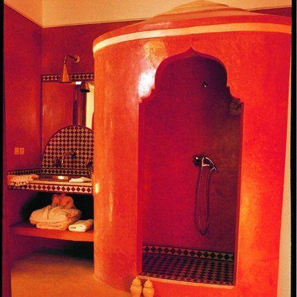 une salle de bain exotique inspiration orientale marie claire maison - Salle De Bain Marocaine Design