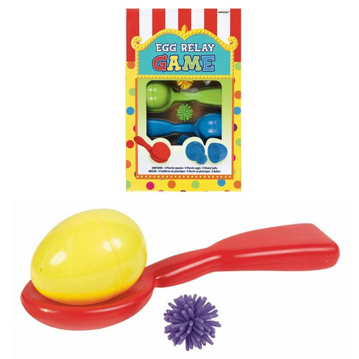 Egg Relay Game from BirthdayExpress.com