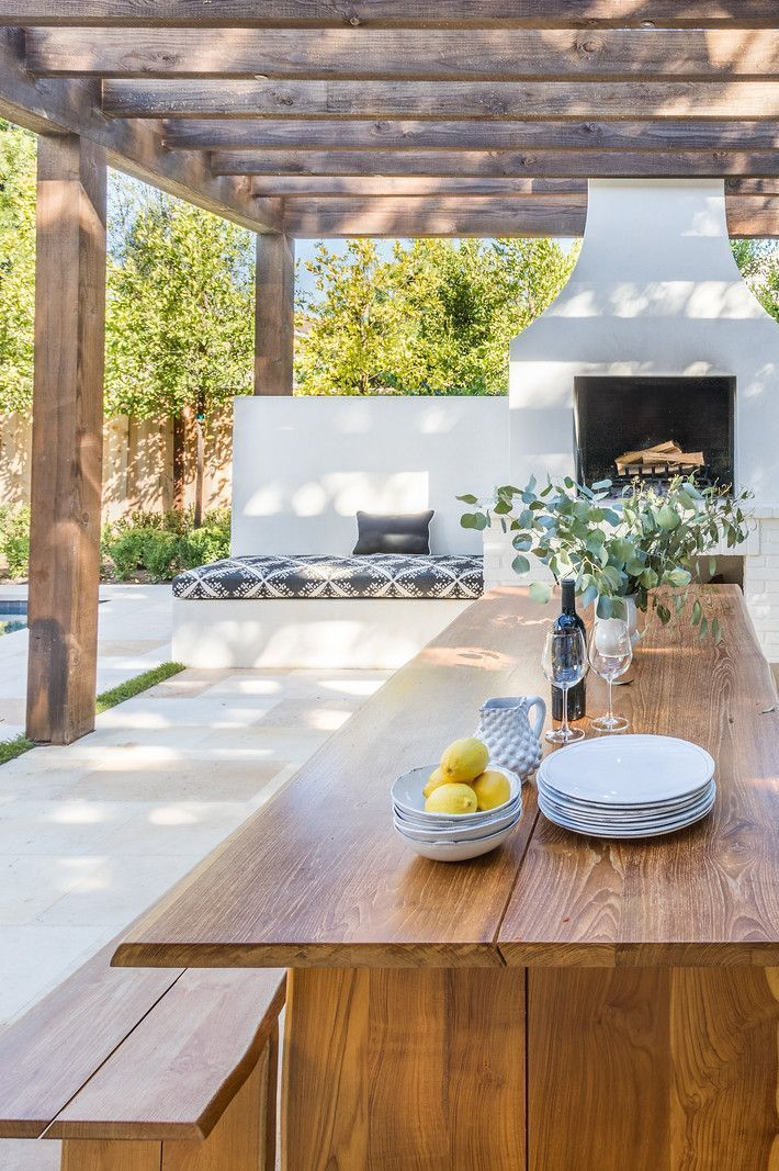 Cuisine D Exterieur Idees Deco Et Amenagement Pour L Ete Cuisine Exterieur Design Jardin Decor De Patio