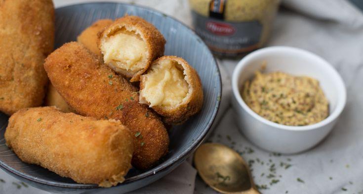 Kaaskroketten met oude kaas - Oh my Foodness/kookboek Rutger