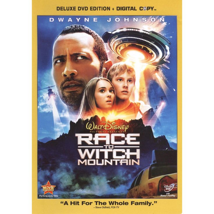 Race to Witch Mountain (2 Discs) (Includes Digital Copy) (dvd_video)