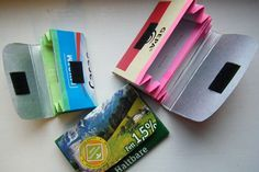 Upcycling: Geldbeutel aus Tetrapacks
