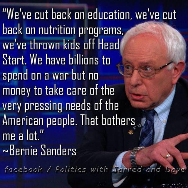 Bernie Sanders Quotes | Bernie Sanders - a very smart, empathetic Senator