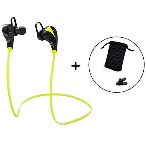 Casque sans fil Bluetooth écouteurs, écouteurs stéréo, écouteurs, léger, suppression du bruit pour la course à pied, jogging, NEUF avec…