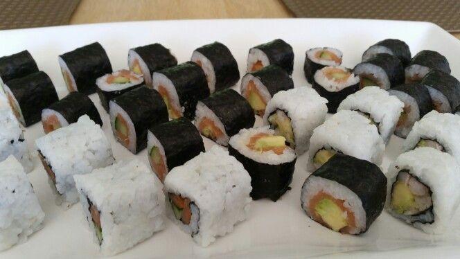 Hjemmelavet Sushi :)