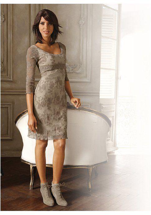 Платье - http://www.quelle.ru/heine/Woman_fashion/Dresses/Summer_dresses/Kruzhevnoe-plate__m266617.html?anid=pinterest&utm_source=pinterest_board&utm_medium=smm_jami&utm_campaign=board2&utm_term=pin12_21032014 Легкое женственное кружево - очаровательная изюминка этого вечернего платья. #quelle #dress #lace #night #party #coctail