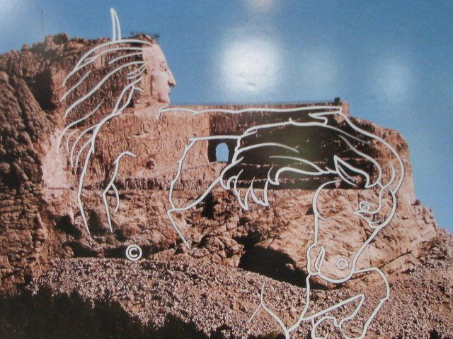 Crazy horse monument finish date in Australia
