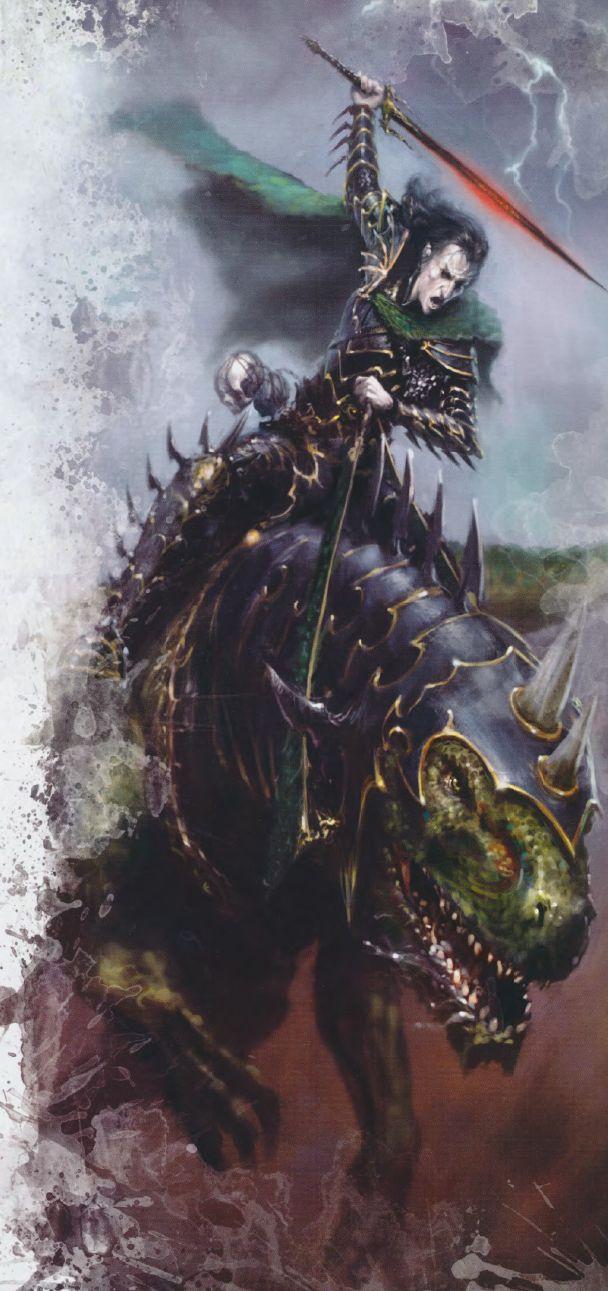 Malus Darkblade, par (auteur inconnu), in Warhammer Battle La Fin des Temps
