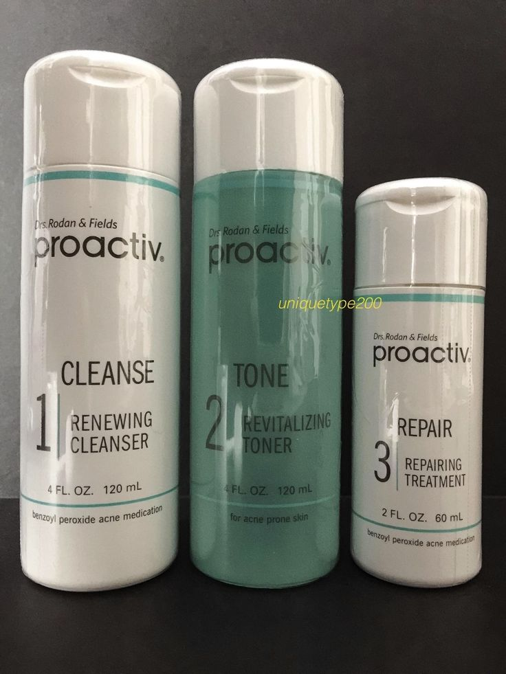 Acne and Blemish Treatments: Proactiv 3Pc 60 Day Kit Proactive 3-Step System With Usage Guide Exp. 2018 2019! -> BUY IT NOW ONLY: $33.95 on eBay!
