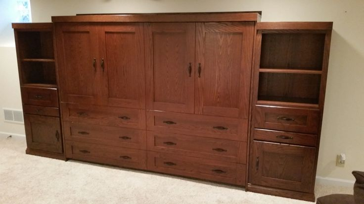 Our customer chose the BedderWay Horizontal Queen Dresser