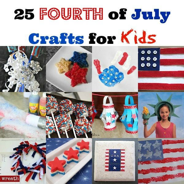 children's crafts 4th of july