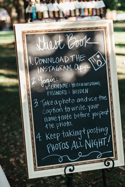 creative guest book idea! | Stephanie Brazzle