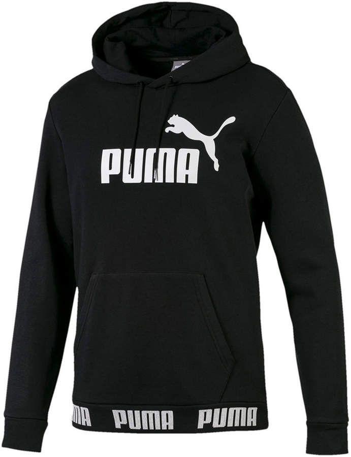 Navy Blue Men/'s New Puma Hooded Sweatshirt Hoodie Hoody Jumper Pullover Top