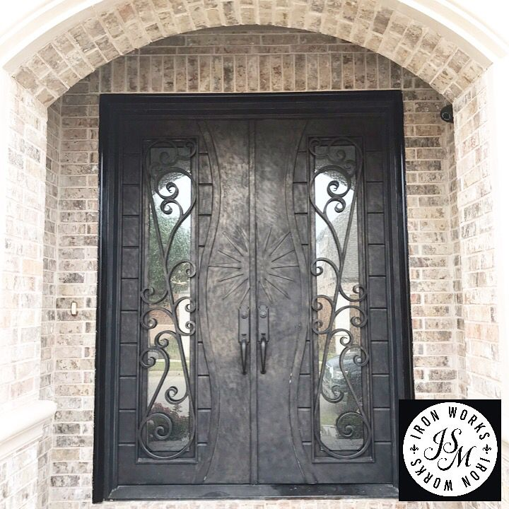 Your Own Master Piece Dfw Custommade Wroughtiron Door