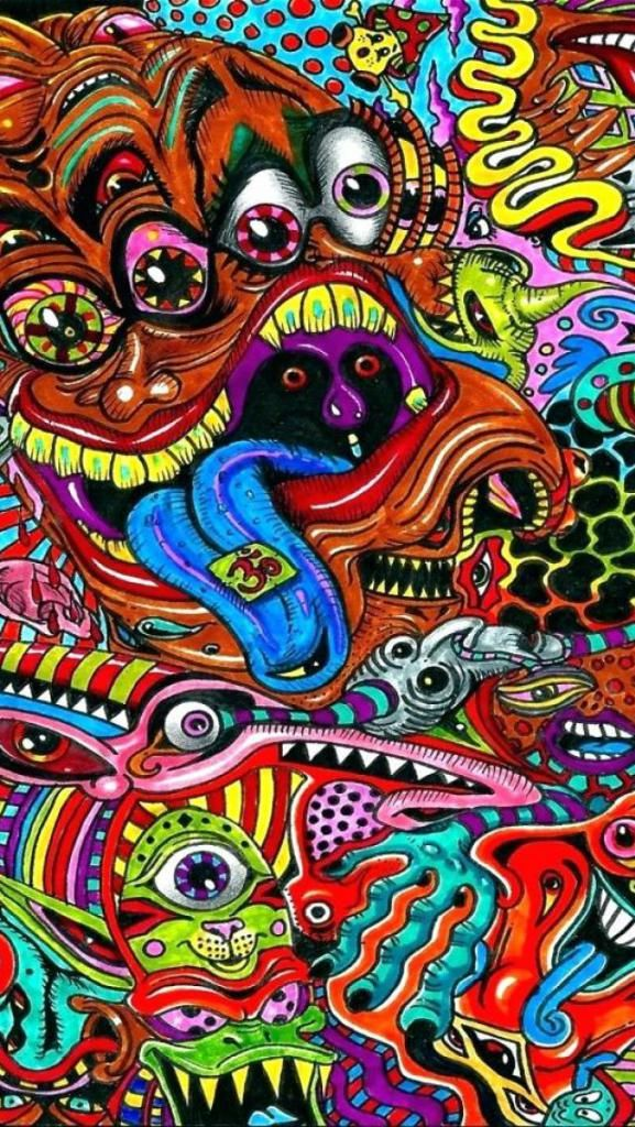 Pin On Hd Wallpapers Dw Gaming Com Download Free Psychedelic trippy wallpaper iphone x