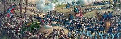 """June 4th-12th grant said of this battle in his memoirs,"""" I have always regretted that the last assault at Cold Harbor was ever made, no advantage whatever was gained to compensate for the heavy loss we sustained."""" the battles lasted until June 12th, when Grant advanced with his left flank, going to the James river. It was a good defensive victory for Lee, but it was his last int eh war. In the final stages he alternated between digging trenches  and fleeing westward across Virginia."""