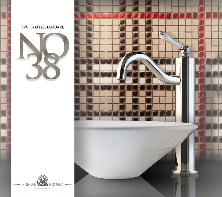 Tvättställsblandare no38 - FREESE & BRUNO