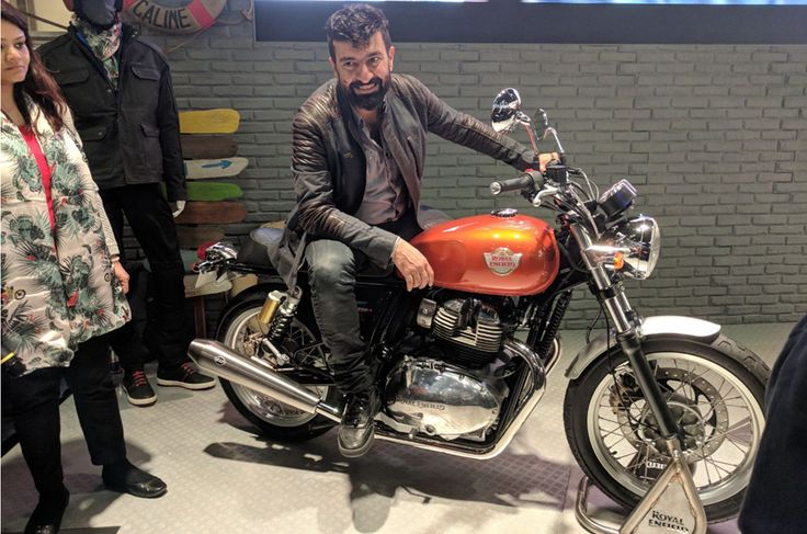 2017 Royal Enfield Interceptor 650 Continental GT twin revealed