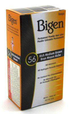 Bigen Powder Hair Color *56 Rich Medium Brown (3-Pack) with Free Nail File * Click image for more details. #hairhack