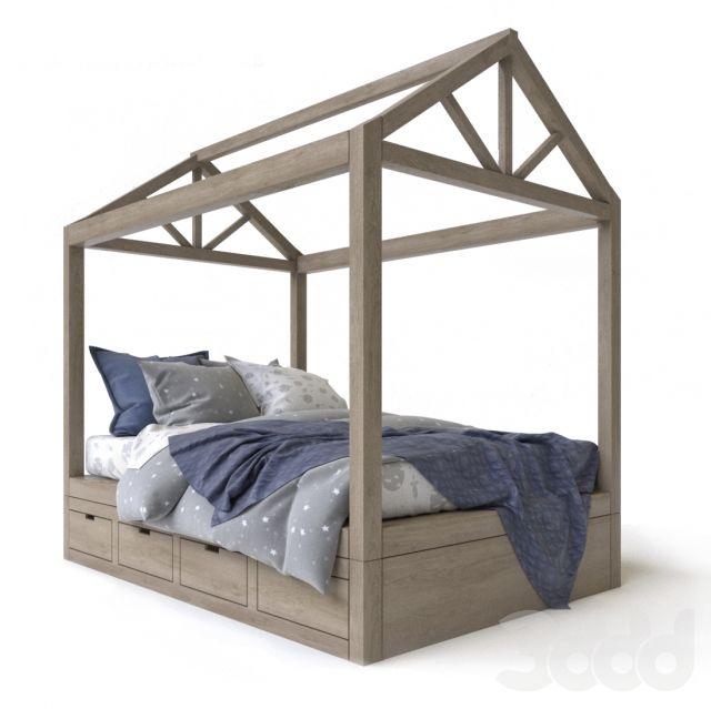 Cole framed house bed
