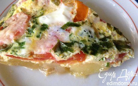 Кабачки, тушеные с помидорами и яйцом (на скорую руку)   Кулинарные рецепты от «Едим дома!»