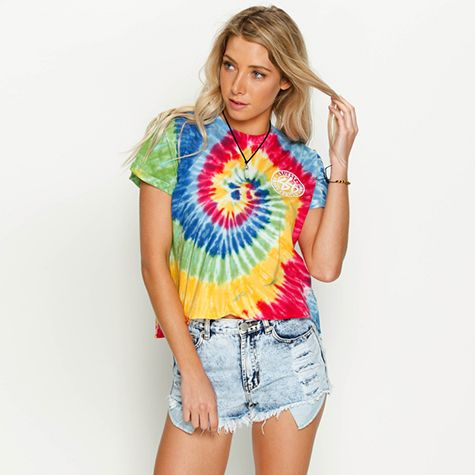 Image for Stussy Roots Tie Dye T-Shirt from City Beach Australia this is a REALLY cute outfit!!!