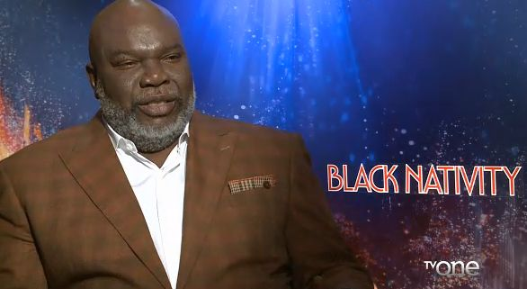 "T.D. Jakes 'Black Nativity'- http://getmybuzzup.com/wp-content/uploads/2013/11/221066-thumb.png- http://getmybuzzup.com/t-d-jakes-black-nativity/- By NewsOne Now  Bishop T.D. Jakes (pictured) already has a few movies he's produced under his belt, such as ""Not Easily Broken"" and ""Jumping the Broom,"" and now he is adding ""Black Nativity"" to his credits. Starring Jennifer Hudson who plays a single Mother who had her child when she  &#823..."