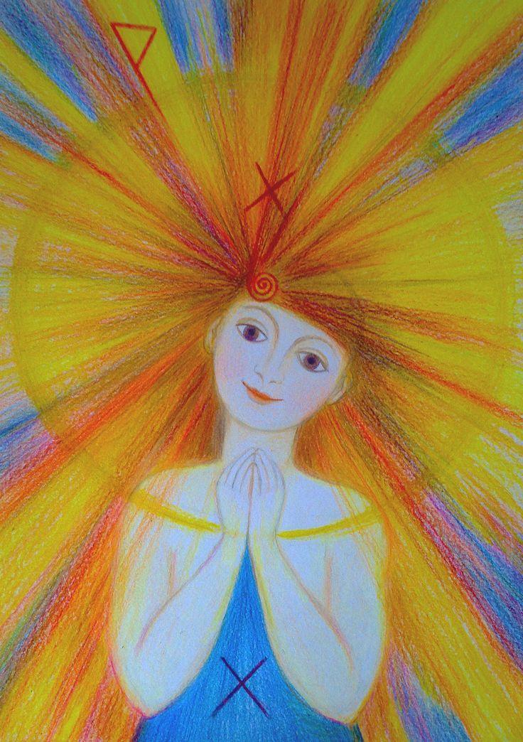 Priestess of Joy by Ivana Axman