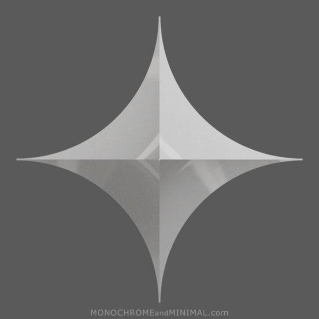 Symmetrical 006. Loop cycle. #3d #abstrakt #construction #design #digital #kunst #minimal #minimalism #white #art #sculpture #medienkunst #symmetrical #3dminimal #cgi #forms #inspiration #loop #mathart #constructivism #mediaart #konstruktive #kunst #constructed #works #concrete #animated #monochrome #geometricart #rotation