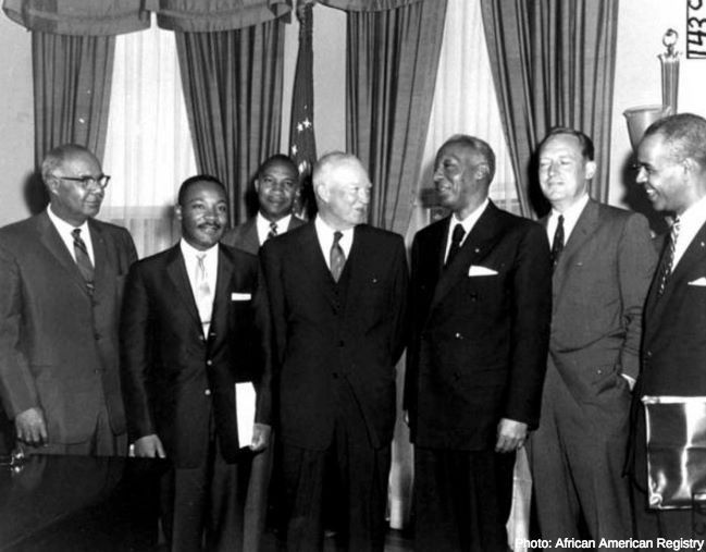 #OnThisDay in 1960, the Civil Rights Act of 1960 was signed by Pres. Eisenhower. This act introduced penalties against anyone who prevented a person's attempt to register to vote or to vote. However, this act failed to accomplish much as the African American electoral roll for the 1960 election only increased by 3 percent nationwide.  Today, how do we make sure policies that would eliminate racial injustices and voter suppression are enforced? #VoterRights