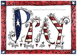 Pray Print (2 Chronicles 7:14)