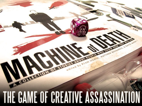 Machine of Death: The Game of Creative Assassination by David Malki.  This project will end funding on Tuesday Mar 19, 2013.