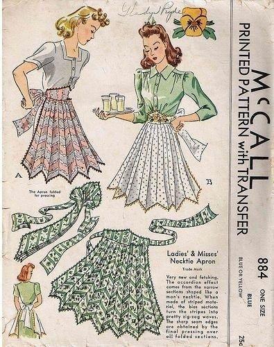 roupa em casa, avental, aventais, padrões retros, teste padrão simples