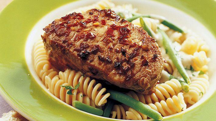 MatPrat - Skinkebiff med pasta