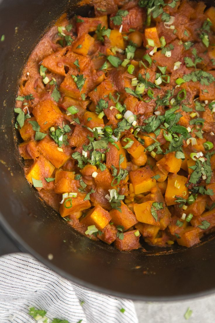 butternut butternut squash curry pot chickpeas chickpeas butternut ...