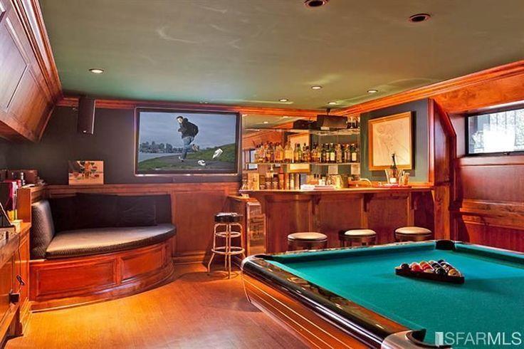 192 best basement bars images on pinterest home ideas Rustic Basement Bars basement bar images with white cabinets