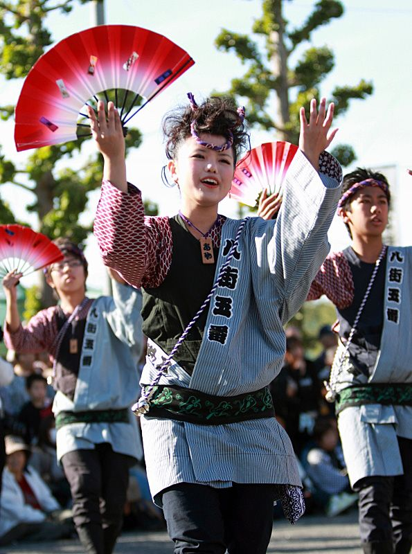 Dance for all, local festival, Yachimata, Japan Copyright: Takero Kawabata