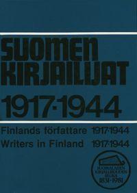 Nimeke: Suomen kirjailijat 1917-1944 - Tekijä:  - ISBN: 9517172389 - SKS