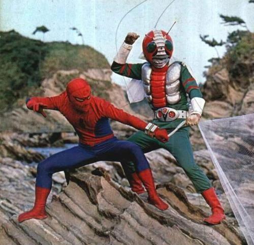 Spider-Man & Kamen Rider.