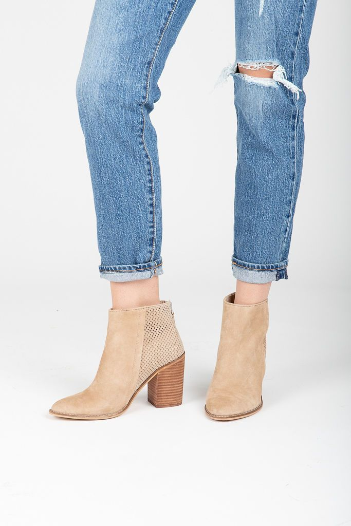 89ba18e93f6 Steve Madden: Replay Bootie in Taupe | Products | Booty, Steve ...