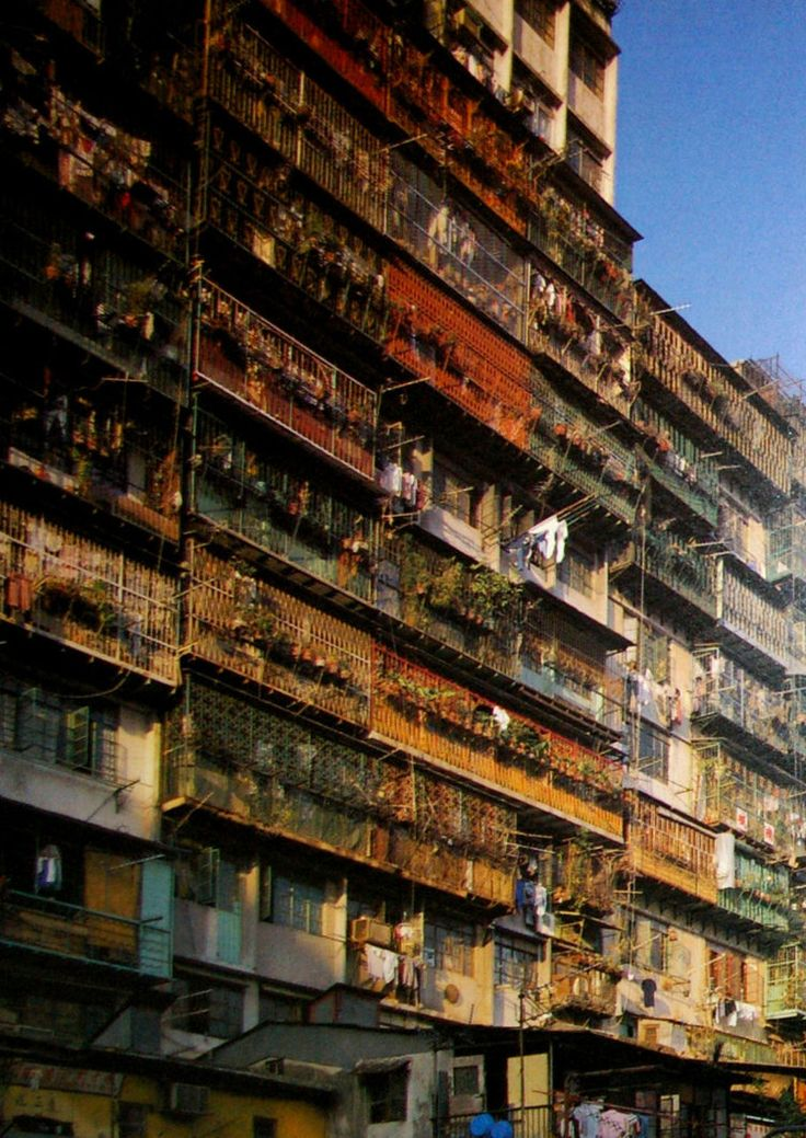Kowloon highrise homes.